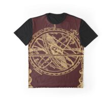 Astrological Meridians - Armillary Sphere Graphic T-Shirt
