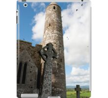 historic rock of Cashel ruins iPad Case/Skin