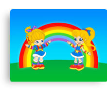 Double Rainbow Canvas Print