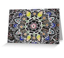 fleur indienne Greeting Card
