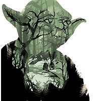 Star Wars Yoda Quote - Do or Do not, There is No Try by LukeTheLegend