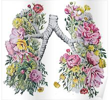 Flower Lungs Poster