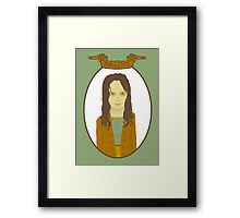 Morgeous Amy Framed Print