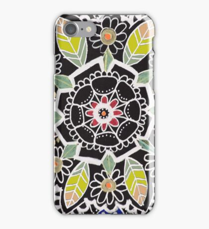 fleur indienne iPhone Case/Skin