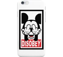 DISOBEY iPhone Case/Skin