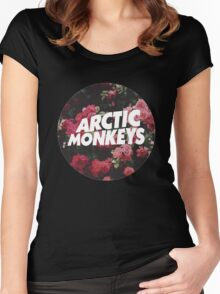 arctic, monkeys Women's Fitted Scoop T-Shirt