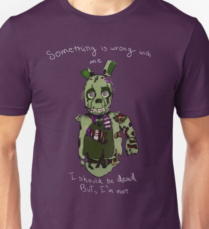 Five Nights At Freddy's - I Should Be Dead Unisex T-Shirt