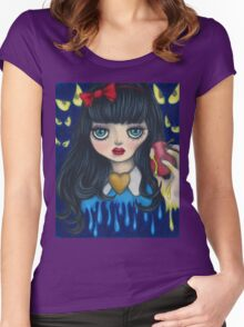 Snow White Women's Fitted Scoop T-Shirt