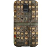 Steampunk - Phones - The old switch board Samsung Galaxy Case/Skin