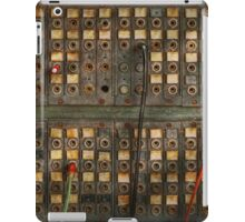 Steampunk - Phones - The old switch board iPad Case/Skin