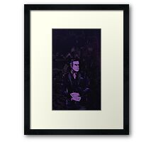 Bruce Wayne Framed Print