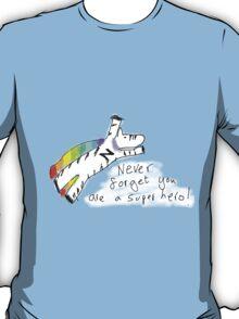 Super Hero Zebra T-Shirt