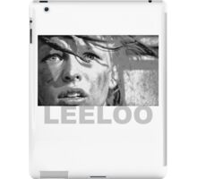 Milla Jovovich as Leeloo from The Fifth Element iPad Case/Skin