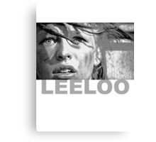Milla Jovovich as Leeloo from The Fifth Element Canvas Print