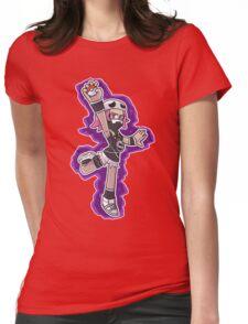 Team Skull Girl Grunt Womens Fitted T-Shirt