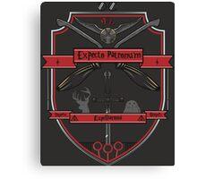 Potter Crest Canvas Print