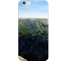 high green cliffs iPhone Case/Skin