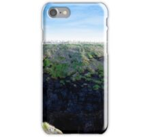 high green cliffs iPhone Case/Skin