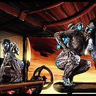 Steampunk Painting 010  by Ian Sokoliwski