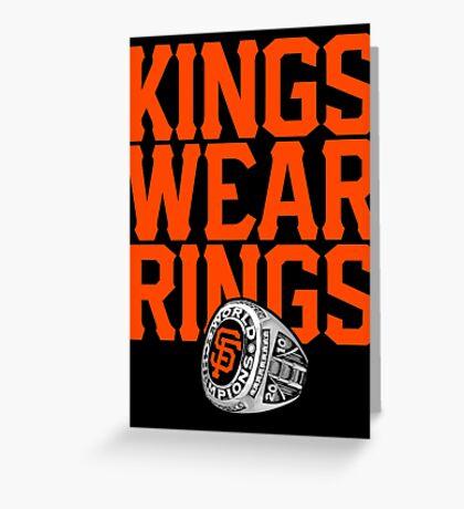 Giant Amongst Kings Greeting Card