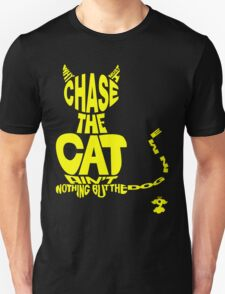 Chase the Cat - Cloud Nine (Yellow) Unisex T-Shirt