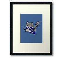 Ravenclaw Kitty Framed Print