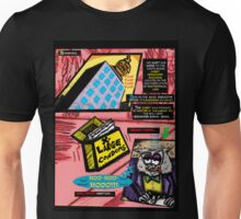 Bird of Steel Comix - Page #3 of 8 (Red Bubble POP-ART COLLECTION SERIES)   Unisex T-Shirt