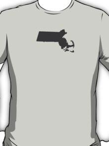 Massachusetts Plain T-Shirt