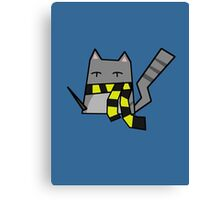 Hufflepuff Kitty Canvas Print