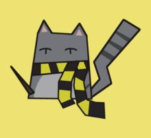 Hufflepuff Kitty Kids Tee