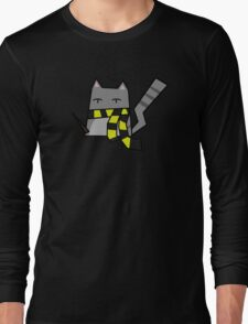 Hufflepuff Kitty Long Sleeve T-Shirt