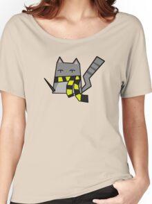 Hufflepuff Kitty Women's Relaxed Fit T-Shirt