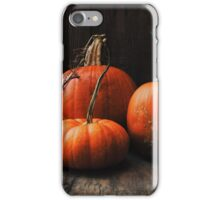 Three Pumpkins iPhone Case/Skin