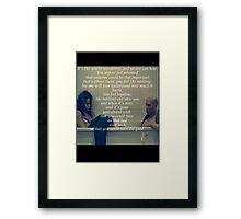 We Found Love #3 Framed Print