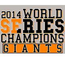SF Giants  Photographic Print