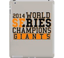 SF Giants  iPad Case/Skin