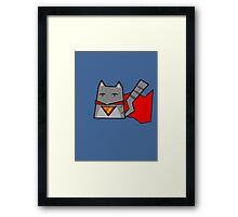Supercat Framed Print