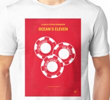 No056 My Oceans 11 minimal movie poster Unisex T-Shirt