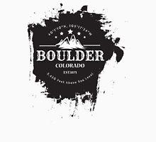 Rock Climbing Boulder Colorado Unisex T-Shirt