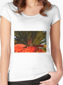 Plant It Red Women's Fitted Scoop T-Shirt