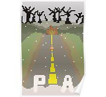Prince Pixel Poster
