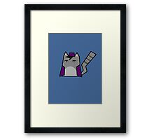 Aladdin Cat Framed Print