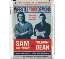 Wrestling Your Demons iPad Case/Skin