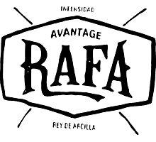 """Rafael Nadal """"rey de arcilla"""" Photographic Print"""