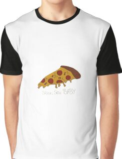 Slice, slice BABY Pizza  Graphic T-Shirt