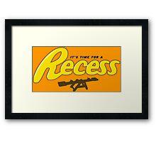 Recess Framed Print