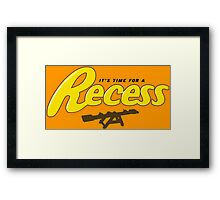 Recess Framed Print