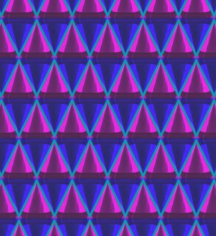 3d cone pattern Sticker
