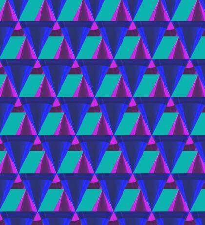 3d triangle mix pattern Sticker
