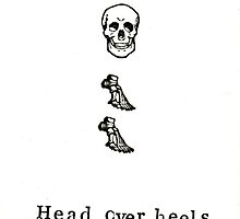 Head Over Heels Anatomy by bluespecsstudio